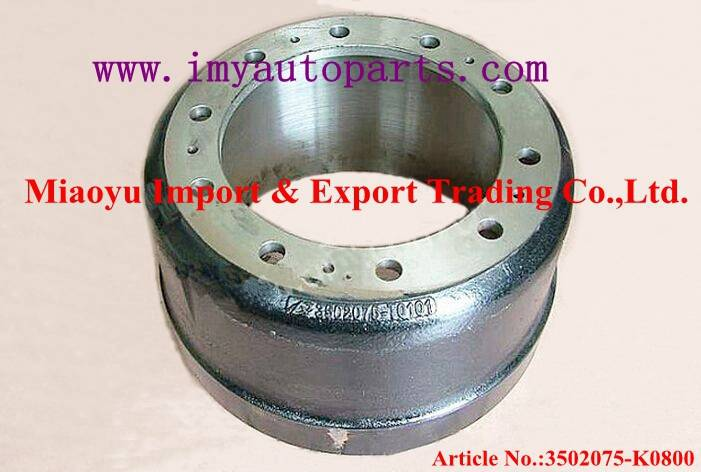 Dongfeng Kinland Rear Brake Drum  3502075-K0800