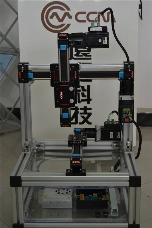 CCM W40 40mm linear motorized customized ball bearing guide rail 3d printing machine system cnc part