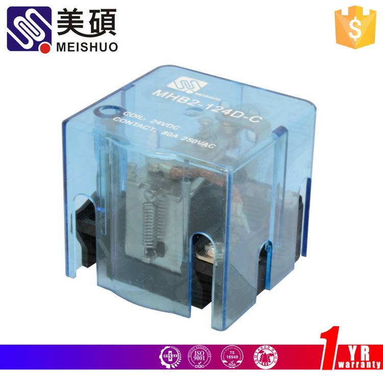MEISHUO MHB2 62F 80A 250VAC power relay