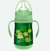 160ml Wide-neck stainless steel vacuum feeding bottle