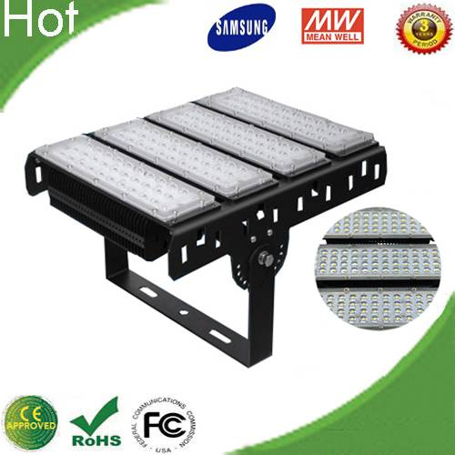 Factory price High power External Meanwell Driver Samsung SMD 3030 200W Led Tunnel Flood Light