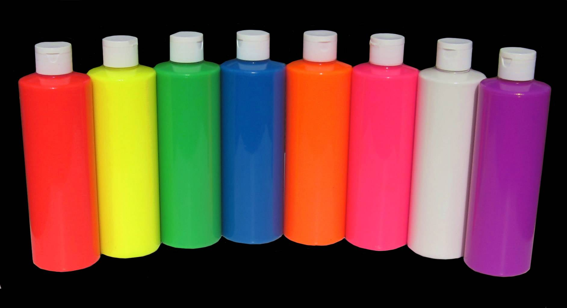 fluorescent neon washable uv glow paint party paint paint rave