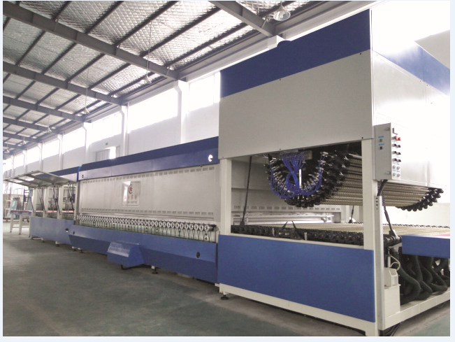 China glass tempering furnace