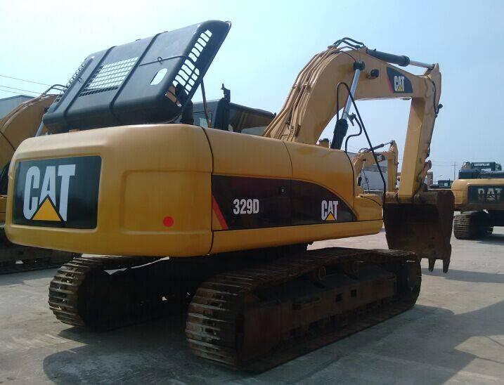 Used Japan Original CAT 329D Crawler Excavator