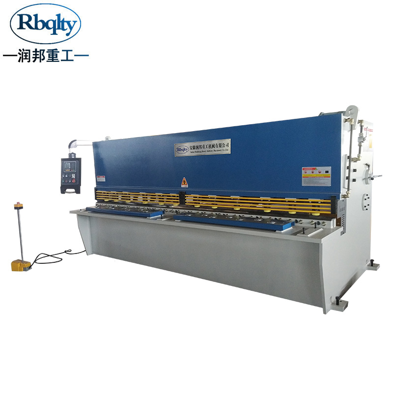 QC12K-63200 Swing shearing machine