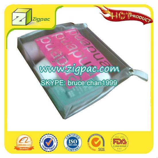 Export to US market and SGS certificate approved fanshion style vinyl bag