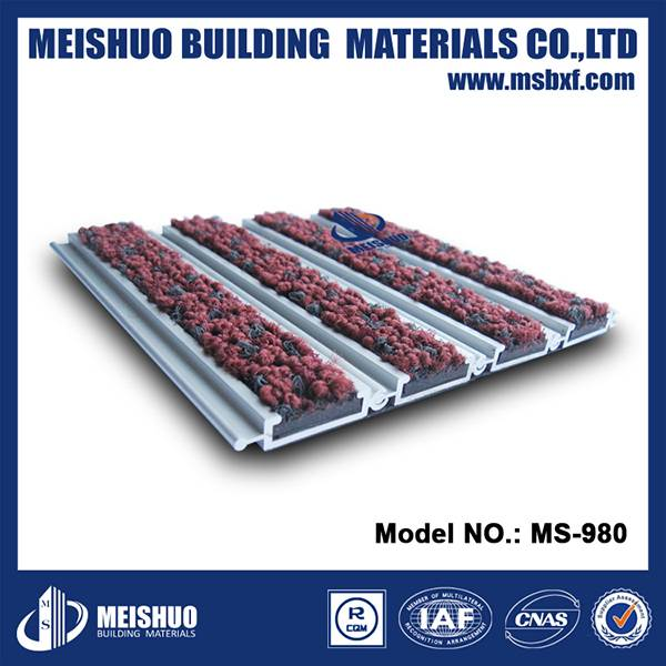 aluminum heavy duty entrance hall mats