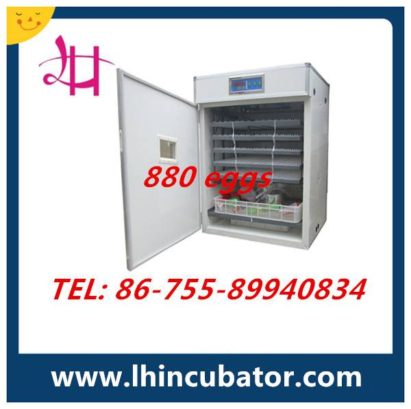 CE Marked High Efficient Automatic Chicken Egg Incubator lh-7