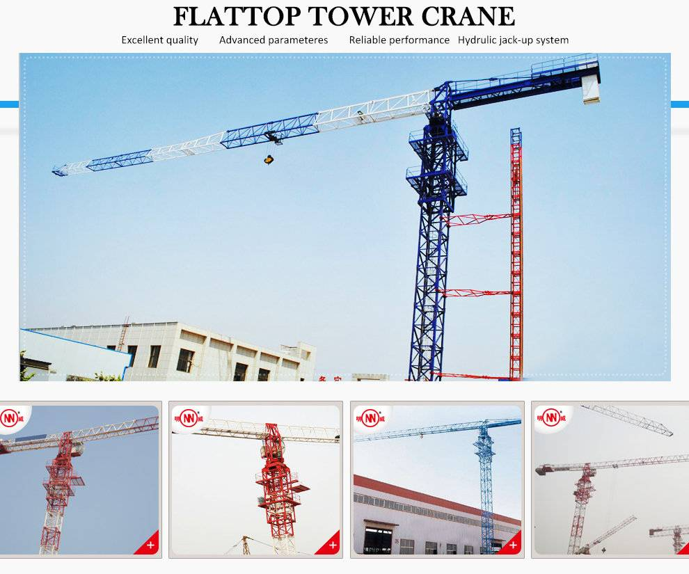 Qtz63 Tc5012) with Max Load 5t Construction Tower Crane Supplier
