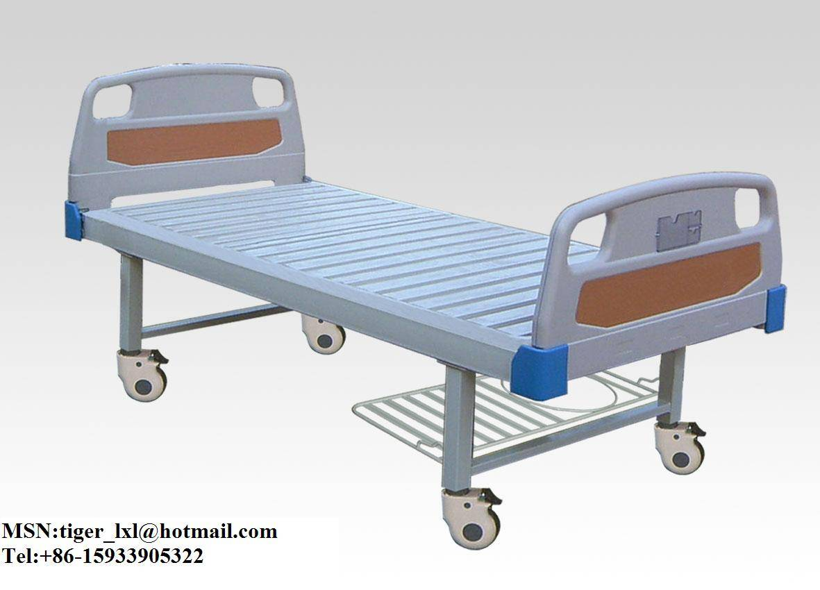 Movable flat hospital bed A-55
