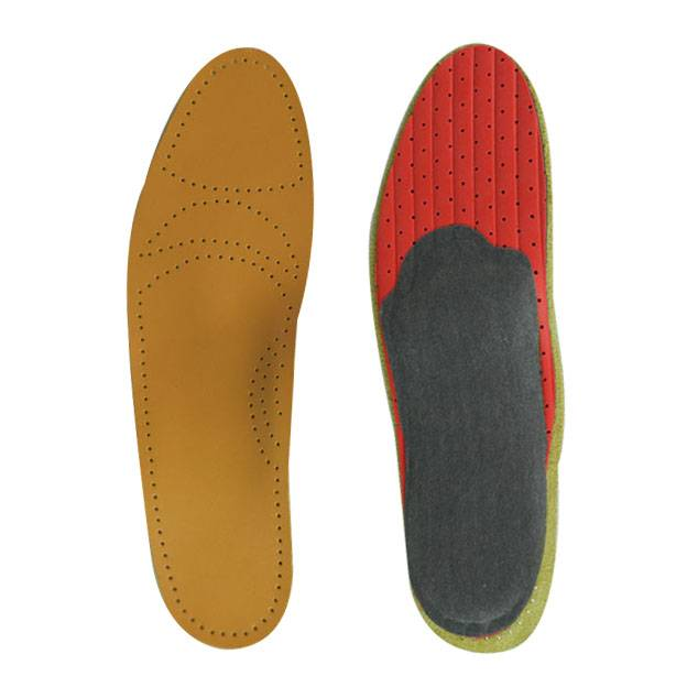 Orthotics Leather Shoe Insole