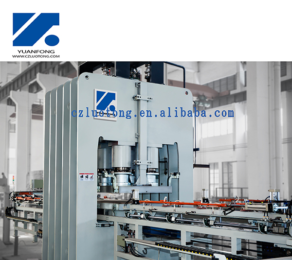 melamine press machine for MDF/HDF
