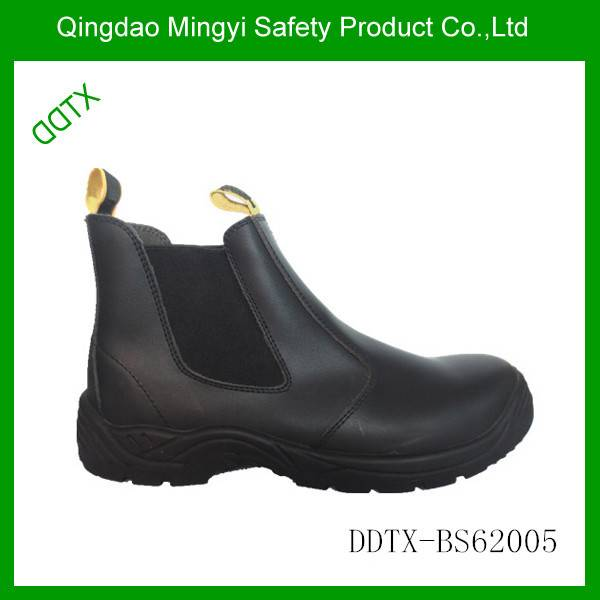 AS certificate pull on safety boots