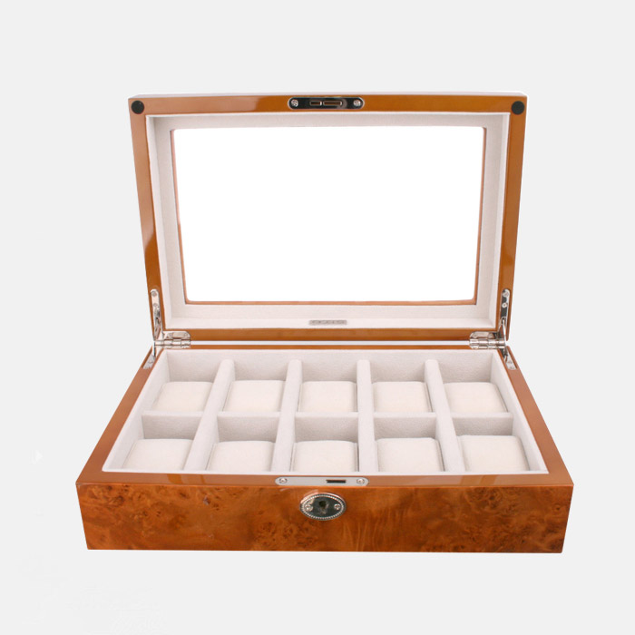 Factory Wood Watch Storage Box For Watches Display