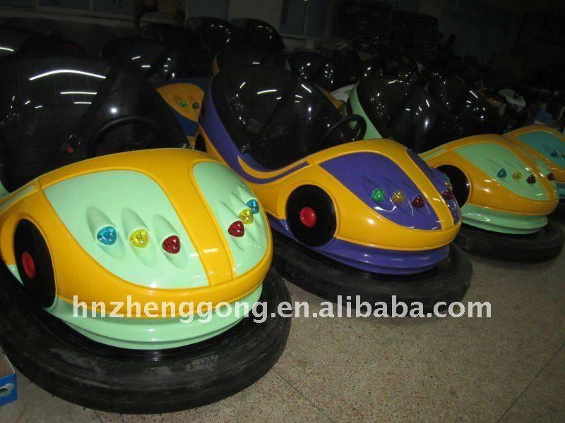 playground equipment 2 seats battery bumper car
