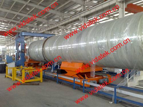 FRP GRP pipe discontinuous filament winding machine