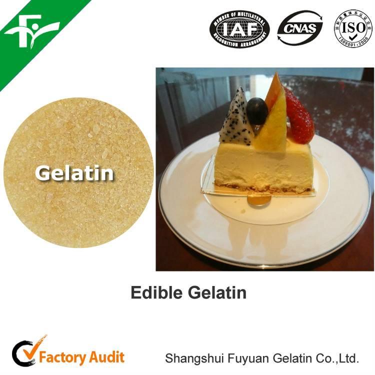 Food supplement gelatin