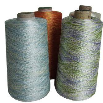 Multicolored Polyester Embroidery Thread