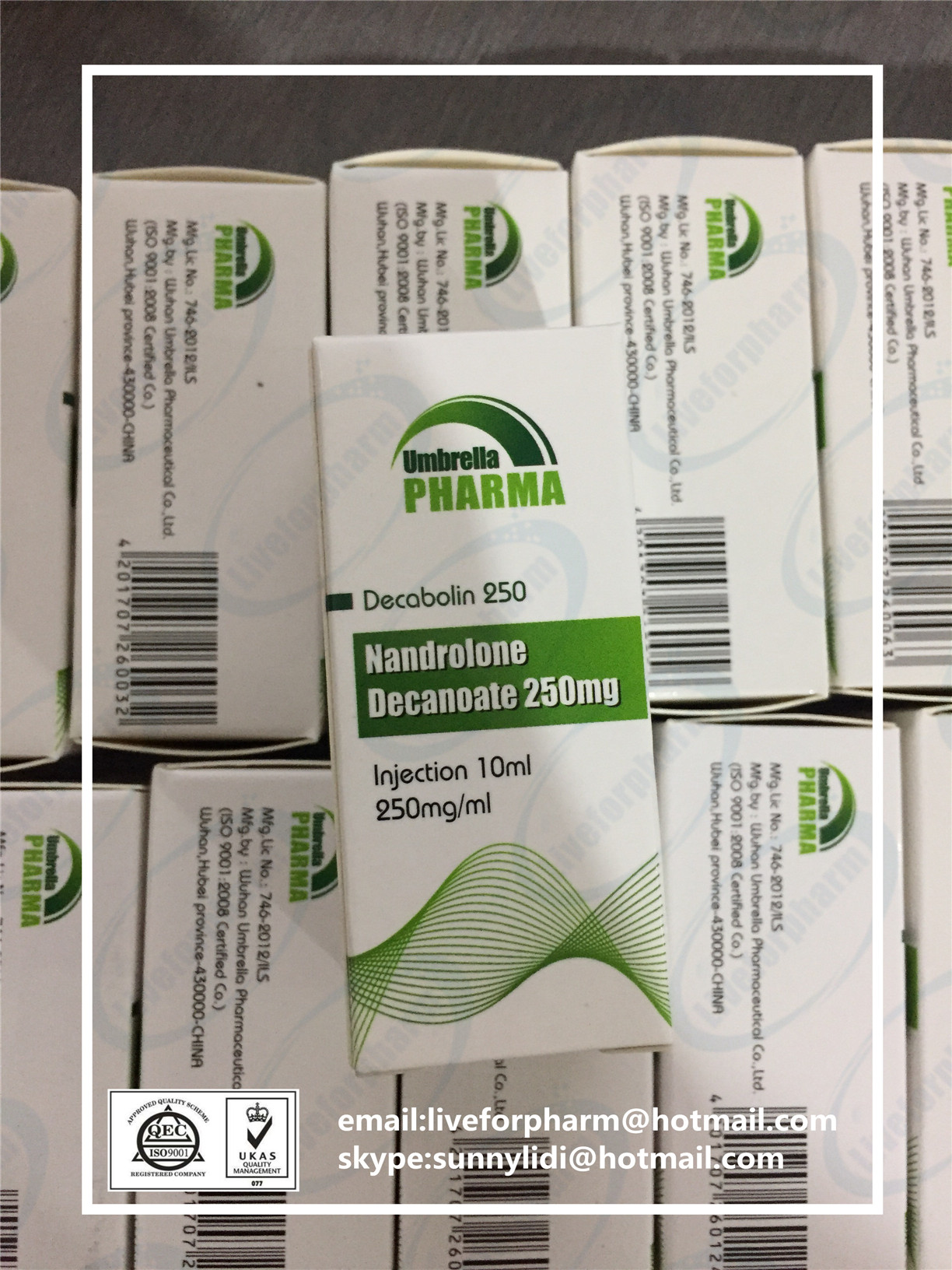 wholesale Nandrolone Decanoate 250mg10ml Decabolin 250 steroid oil 98.8% above