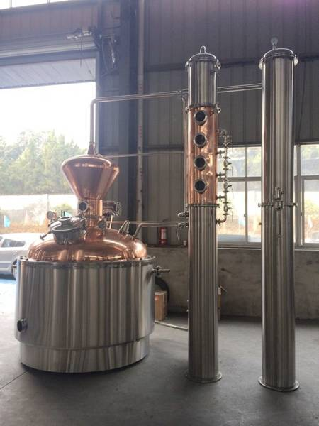 New Style Of American Distillery For Whisky/Rum/Gin
