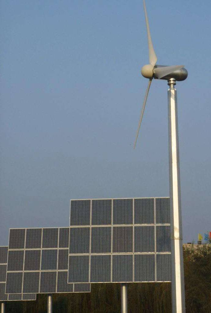6KW wind turbine