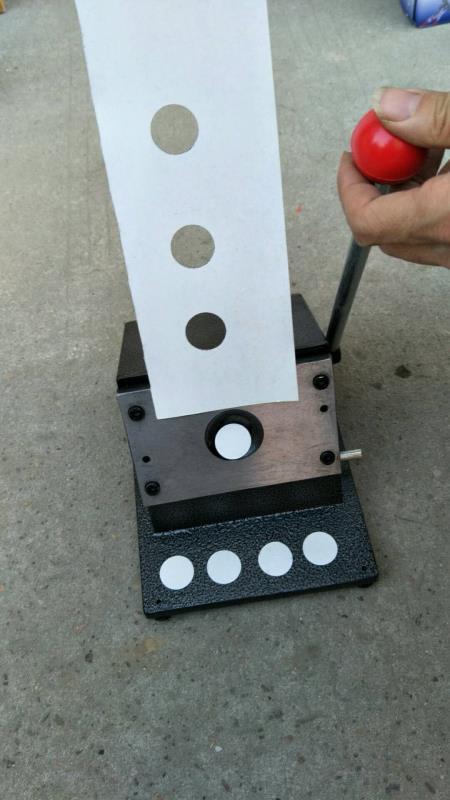 Enosh PVC card cutter round shape cutter 50 circle