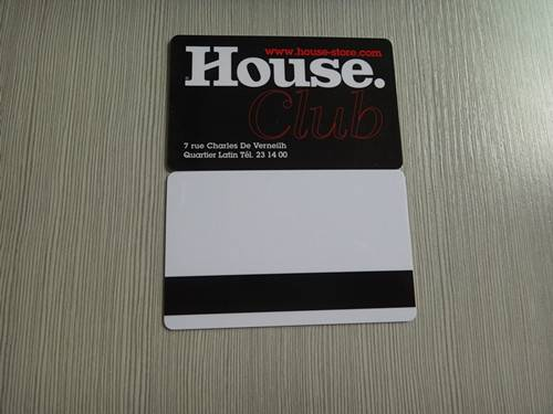 magnetic stripe Plastic card hotel key card