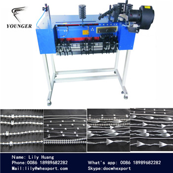 plastic ball chain making machine for roller blinds curtains