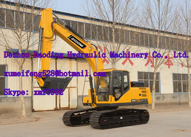 China hot sale crawler excavator BD150 excavators