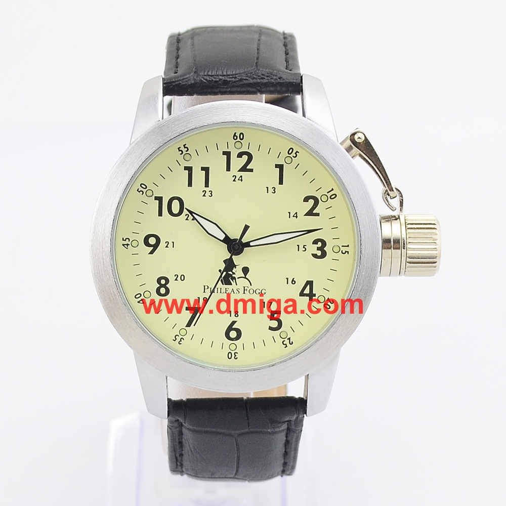 Noctilucence dial big crown watch special watch