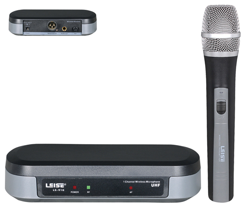 Ls-910 Single Channel Good Quality UHF Wireless Microphone