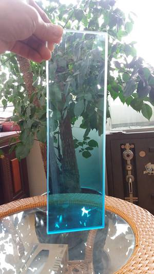 Decorative frosted glass panel for oversea market