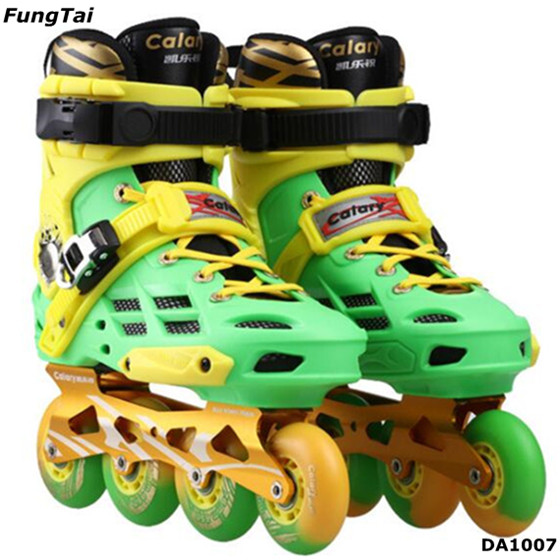 Street Slalon Roller Inline Skate Shoes Patins 4 Wheels (DA1007)