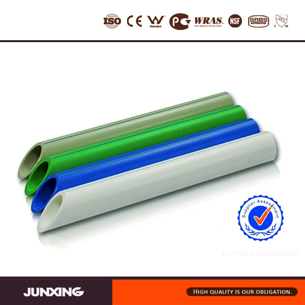 Green color white color PPR Pipe dn110 with CE Certification for drinking water