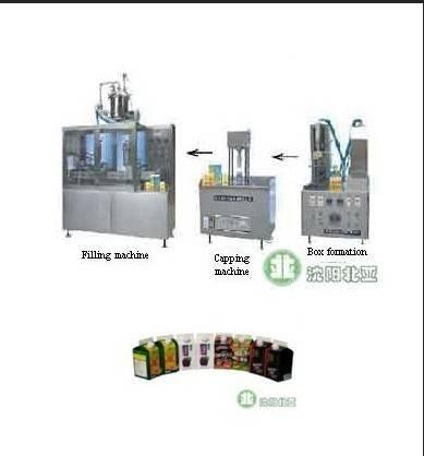 Yogurt Filling and Packing Machine (BW-1000-3)
