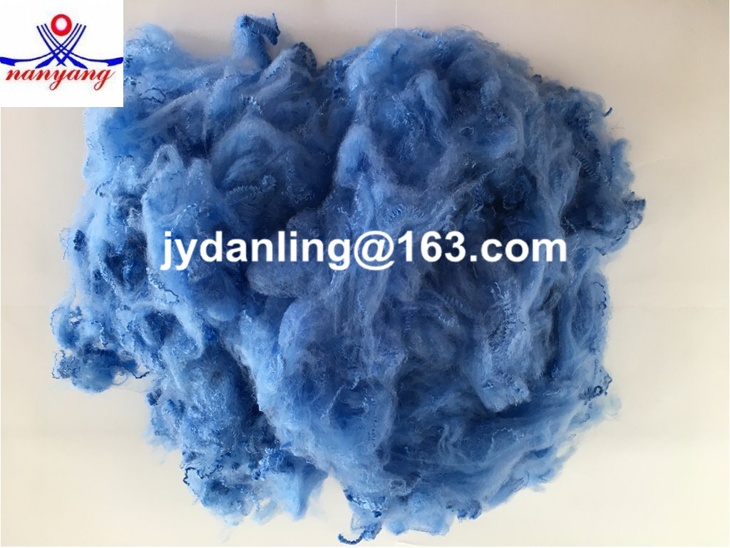 Dyed Pattern PSF Recycled Polyester Staple Fiber