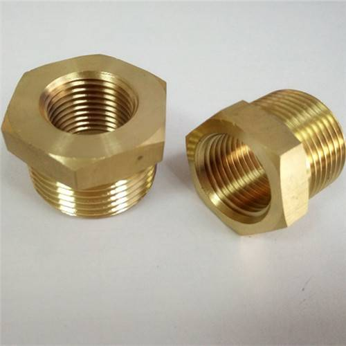 Different size brass bushing/reducer bushing
