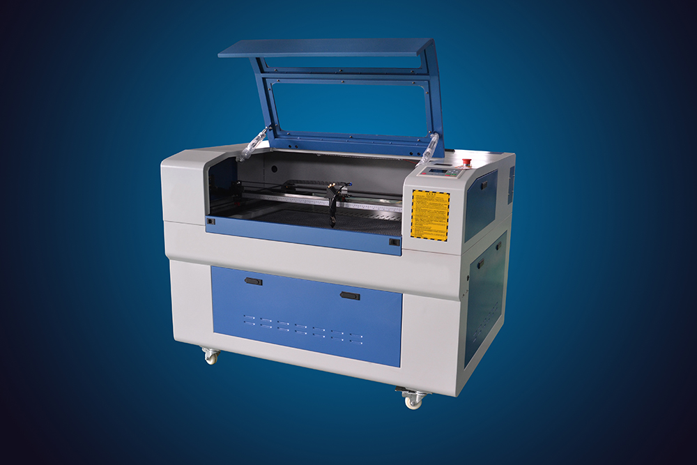 80W co2 600900mm laser cutting/engraving machine