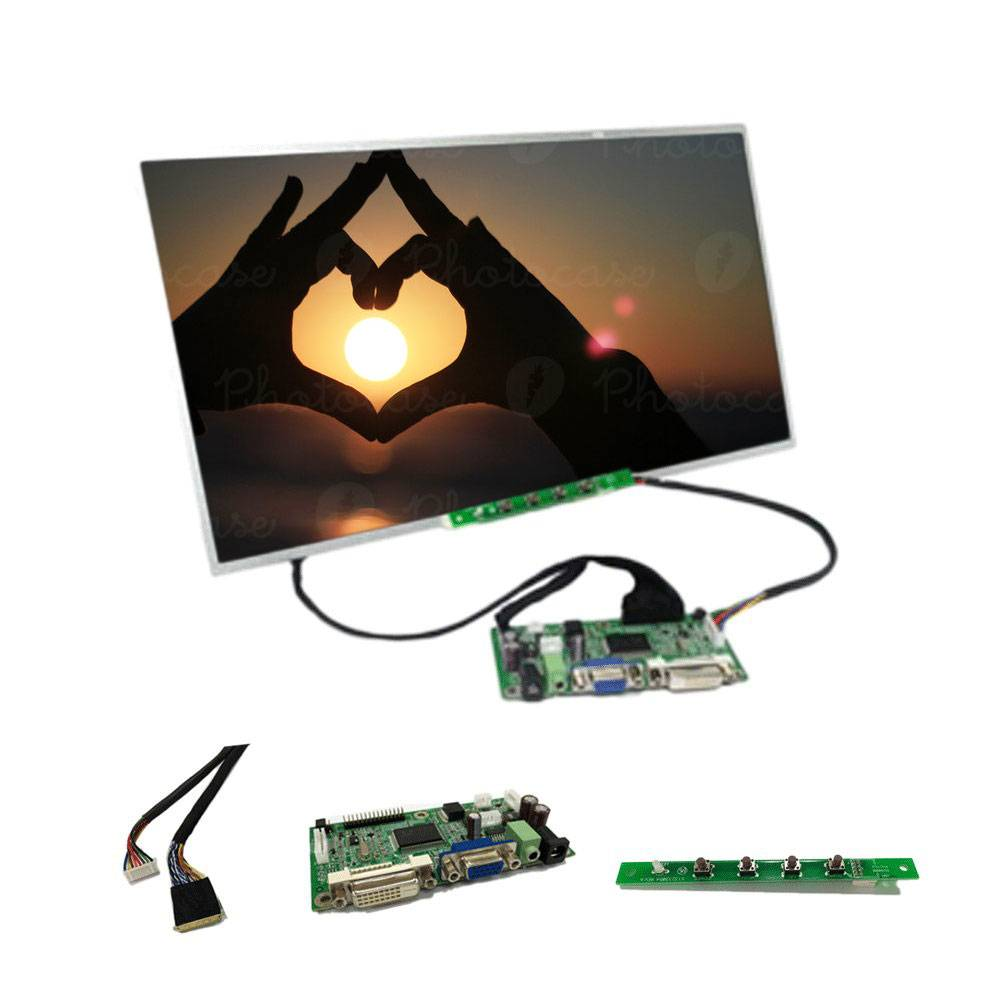 15.6 inch TFT LCD PANEL with 1366x768 resolution with display kits for Industrial PC