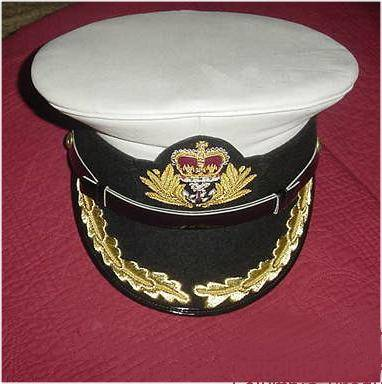 CP Brand UK Navy Captain Hats