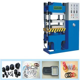 vulcanize rubber products hydraulic press machine