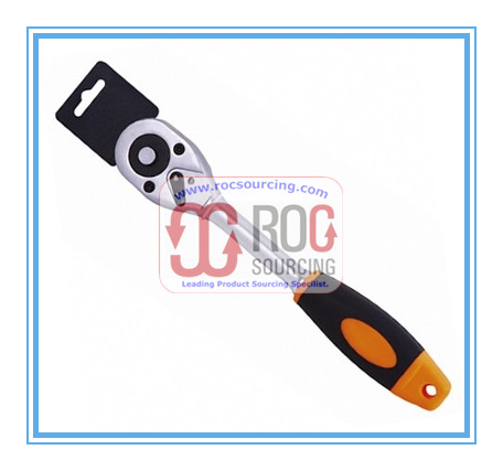 TPR Grip Quick Release Ratchet Handle Wrench Socket Set Other Spanner Plier Screwdriver Hand tool