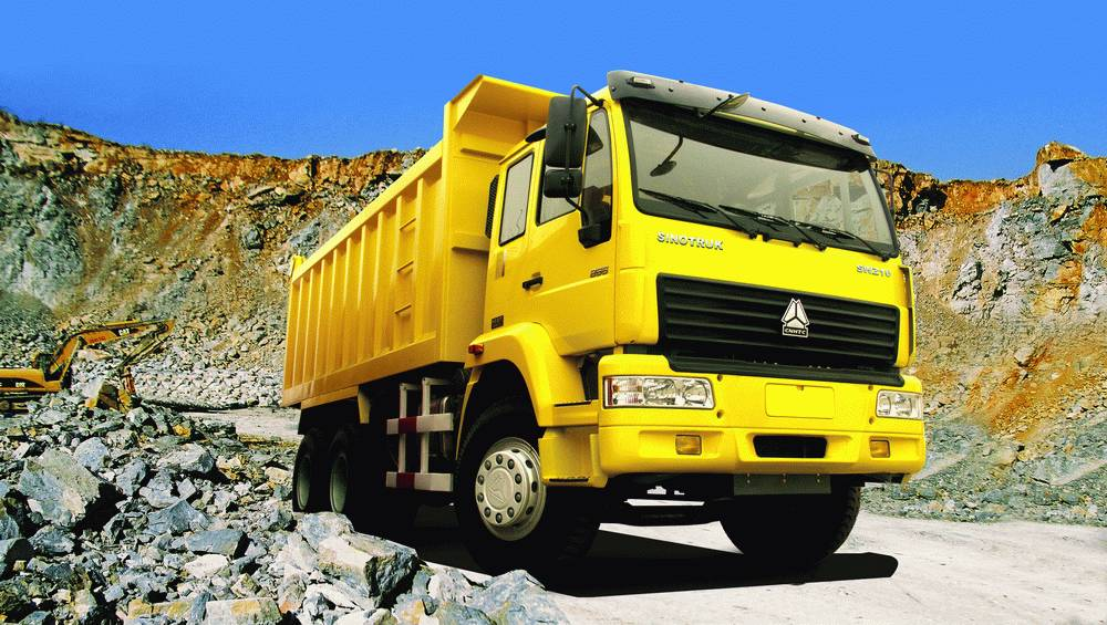 Dump Truck 336 HP Manual Heavy Duty / Diesel 6x4 Dump Truck