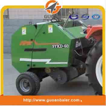 Manufacturer small round pasture bundling machine