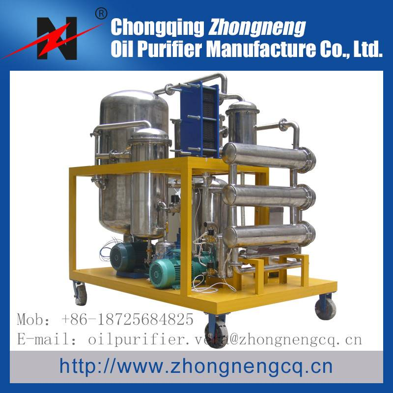 Series TYA-I Phosphate Ester Fire-resistant Oil Purifier, Hydraulic Oil Purifier