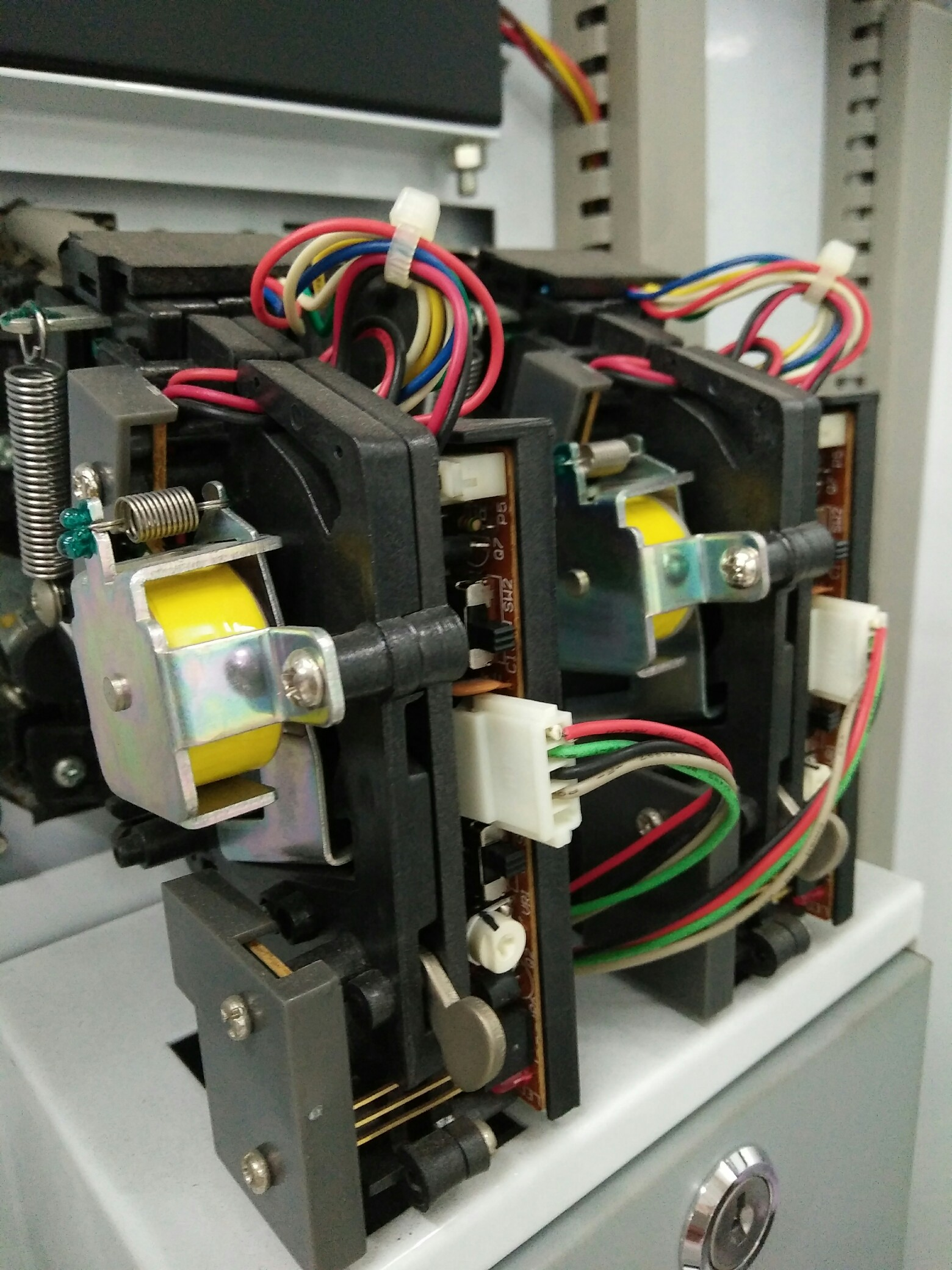 wire harness for vending machine