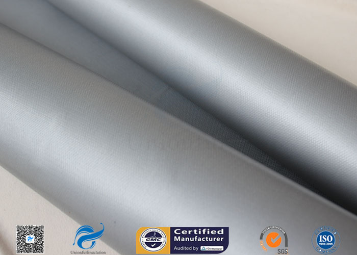 80/80g Double Sided Silicone Coated Fiberglass Fabric