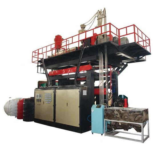 1000-2000L water tank blow molding machine