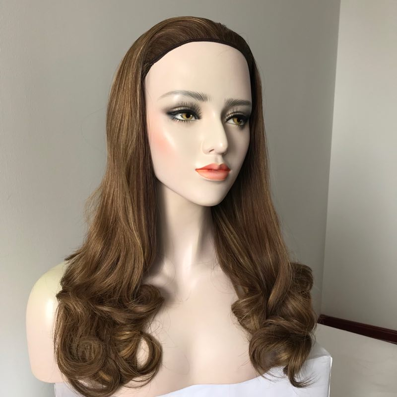 100% Brazilian Human Hair Full Lace Front Wig