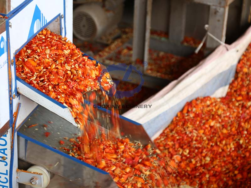Red Chili Dryer Machine for Mass Production of Food Drying